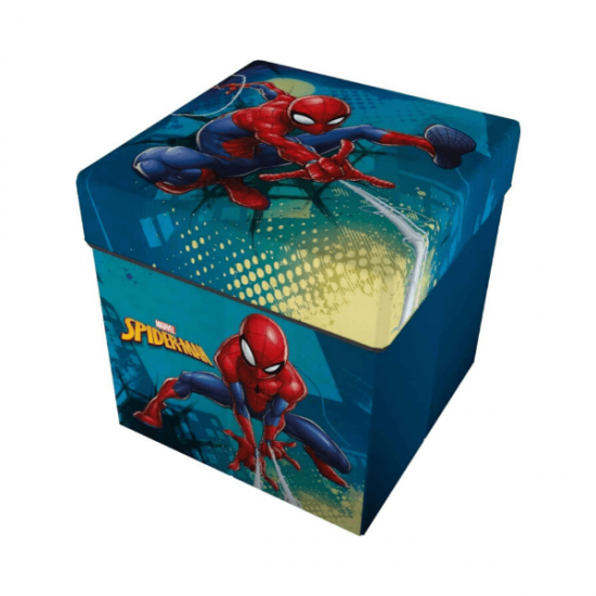 Contenitore Porta Oggetti Spiderman 28x28x30 Cm