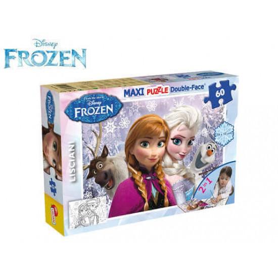 Maxipuzzle Frozen Double Face 60 Pezzi