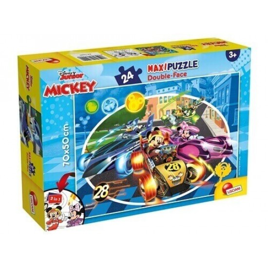 Maxipuzzle MIchey Double-Face