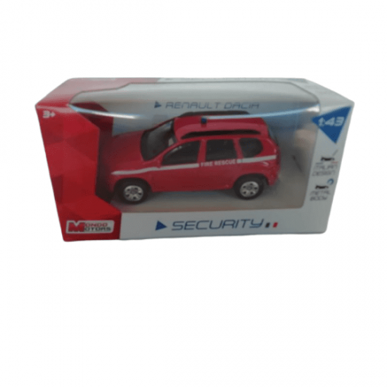 Modello Auto Statico Renault Dacia Scala 1/43 Pompieri Mondo Giocattoli