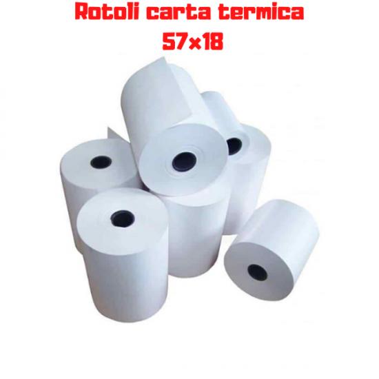 Rotoli Carta Termica Poss 57 x 18