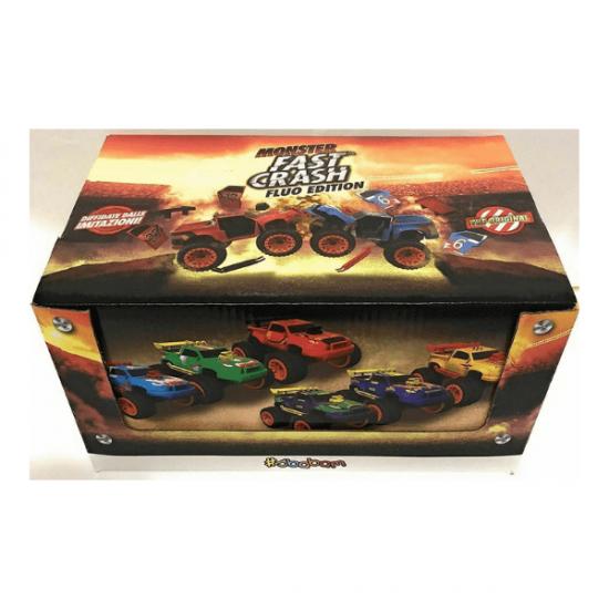 Fast Crash Fluo Edition Display da 8 Bustine