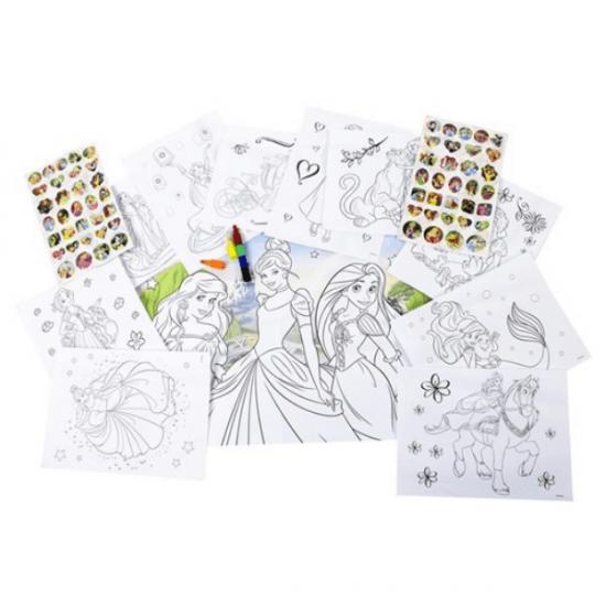 Set Creativo Principess  Latta con Poster e Stickers