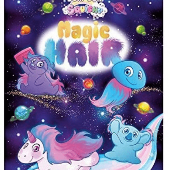 Magic Hair Squishy Collezione Completa 12 Bustine in Display