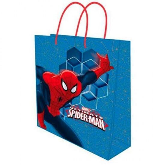Sacca Regalo Spiderman 26x12x32 cm